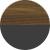Американский орех янтарный/Черный оникс