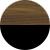 Американский орех янтарный/Черный