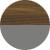 Американский орех янтарный/Серый пыльный