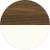 Американский орех янтарный/Белый Премиум