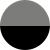 Серый пыльный/Черный